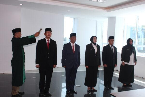 Pelantikan Pejabat Eselon IV dilingkungan BNNP Jawa Barat