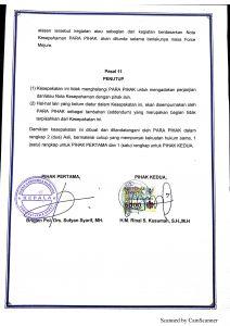 NOTA KESEPAHAMAN BNN PROVINSI JAWA BARAT DENGAN PERHIMPUNAN ADVOKAT INDONESIA KOORDINATOR WILAYAH JAWA BAGIAN BARAT.