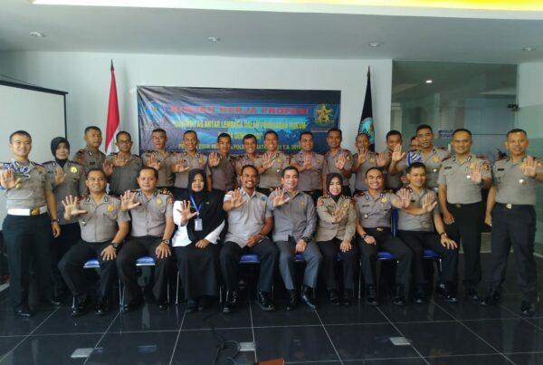 Kuliah Kerja Profesi (KKP) Sespimma Polri ke BNN Provinsi Jawa Barat