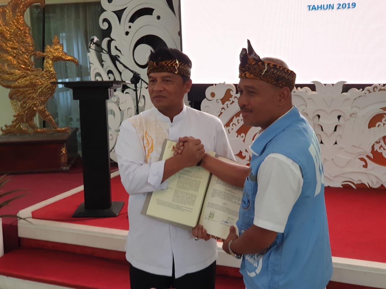 BNN Jabar Teken Nota Kesepahaman Dengan Pemerintah Kabupaten Bandung