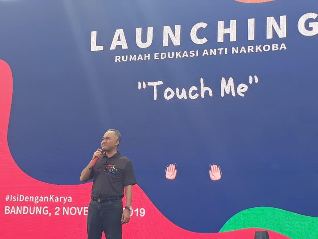 BNN Luncurkn Program Rumah Edukasi Antinarkoba di Bandung