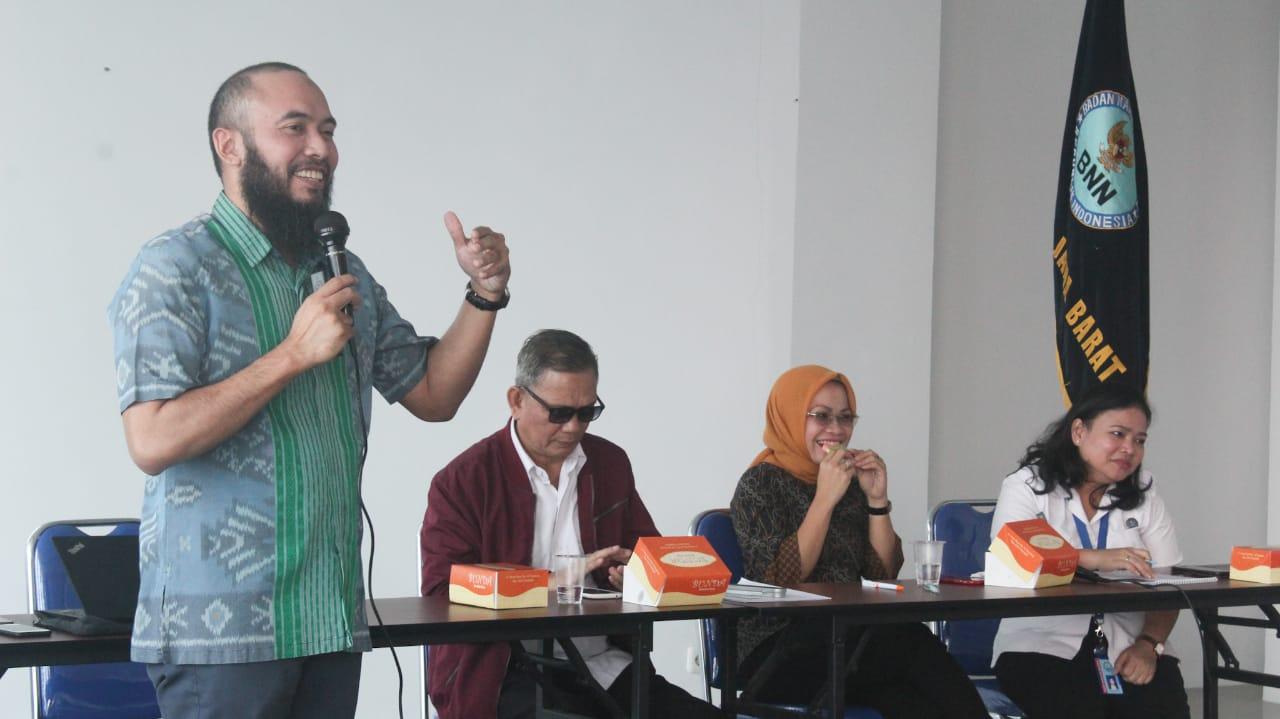 BNNP Jabar Mengadakan Workshop Model Intervensi Ketahanan Keluaga Anti Narkoba