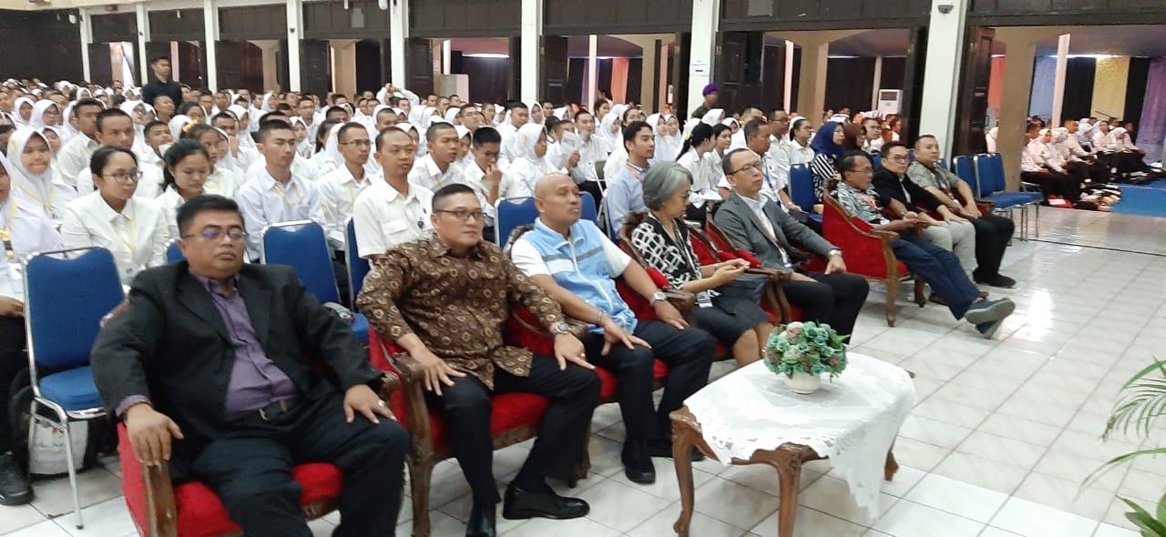 Sosialisasi P4GN Terhadap Mahasiswa Baru di Universitas Widyatama Sebagai Wujud Program Kampus Bersih Narkoba (Kampus Bersinar).