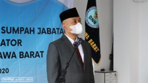 PELANTIKAN/PENGAMBILAN SUMPAH JABATAN PEJABAT ADMINISTRATOR DI LINGKUNGAN BNN PROVINSI JAWA BARAT