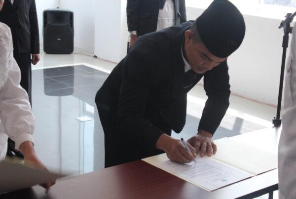 Pelantikan Pejabat Eselon IV dilingkungan BNNP Jabar